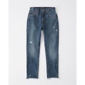 🆕🆕🆕Abercrombie and Fitch High Rise Mom Jeans